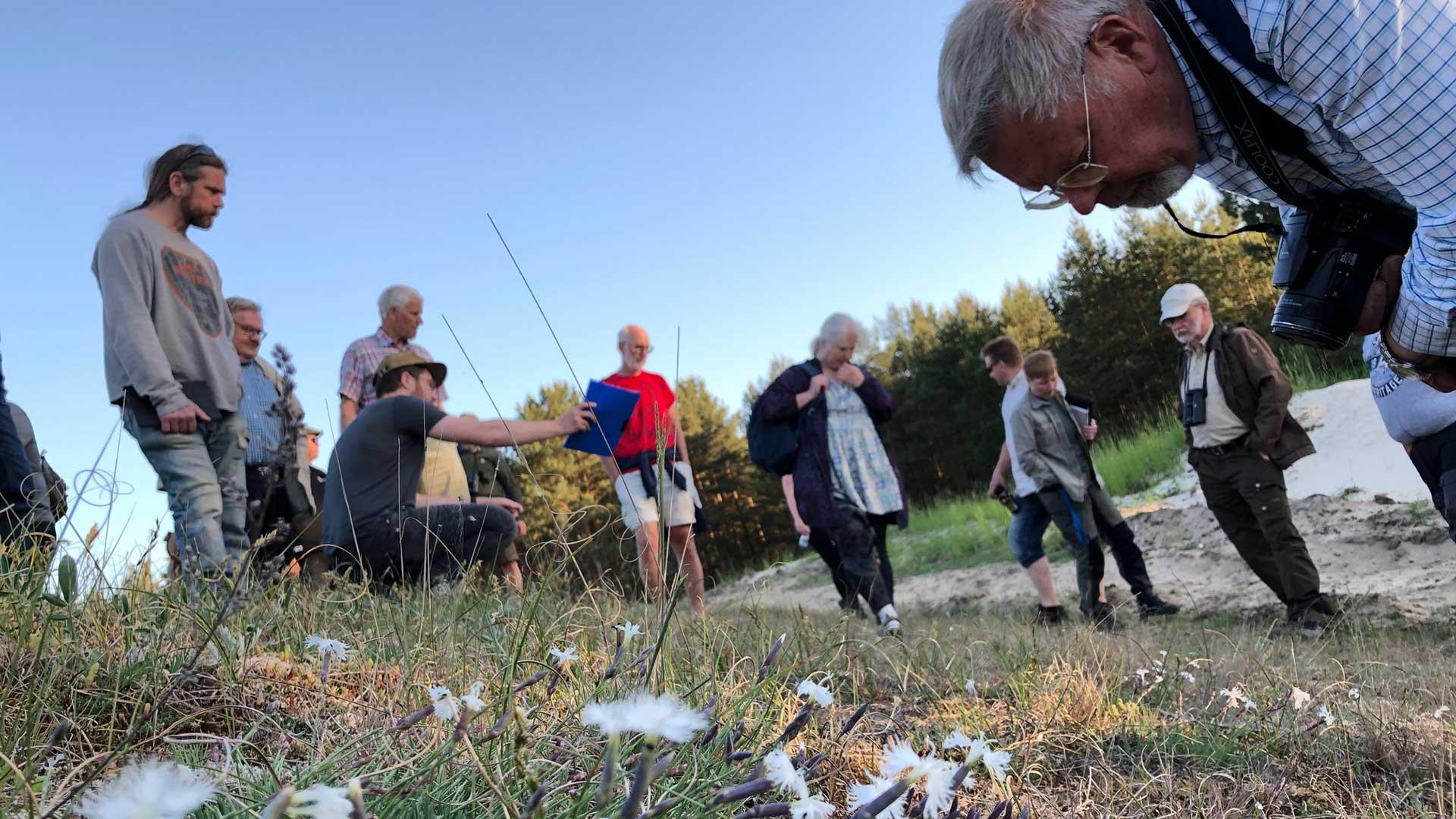 Samrådsgruppmöte på stranden hos Hånsa