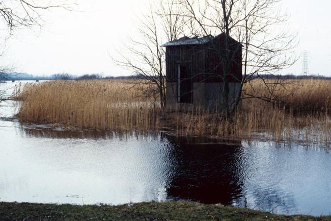 Kanalhuset som färskvattenintag innan det blev utemuseum