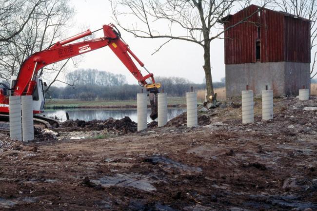 Kanalhusets omvandling från färskvattenintag till utemuseum 3.