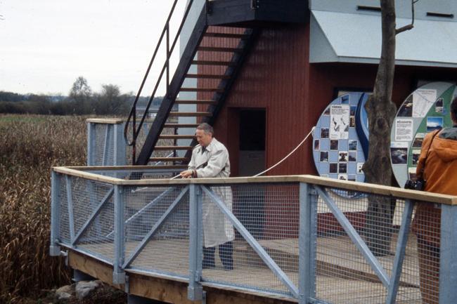 Kanalhusets omvandling från färskvattenintag till utemuseum 8.