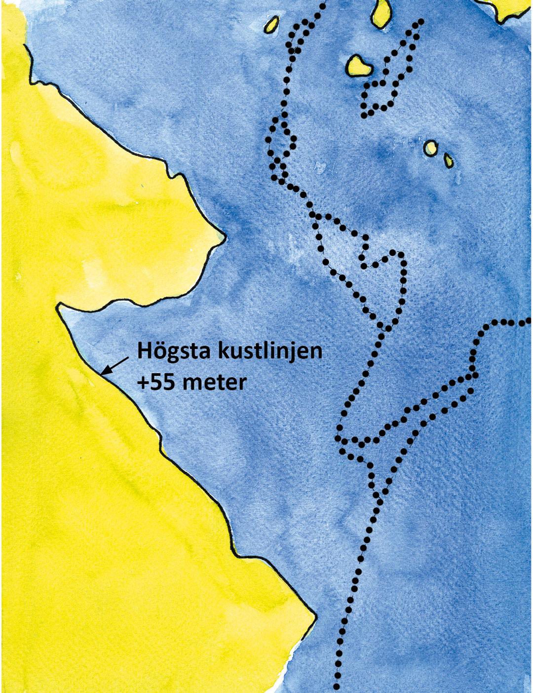 Baltiska issjön geologi