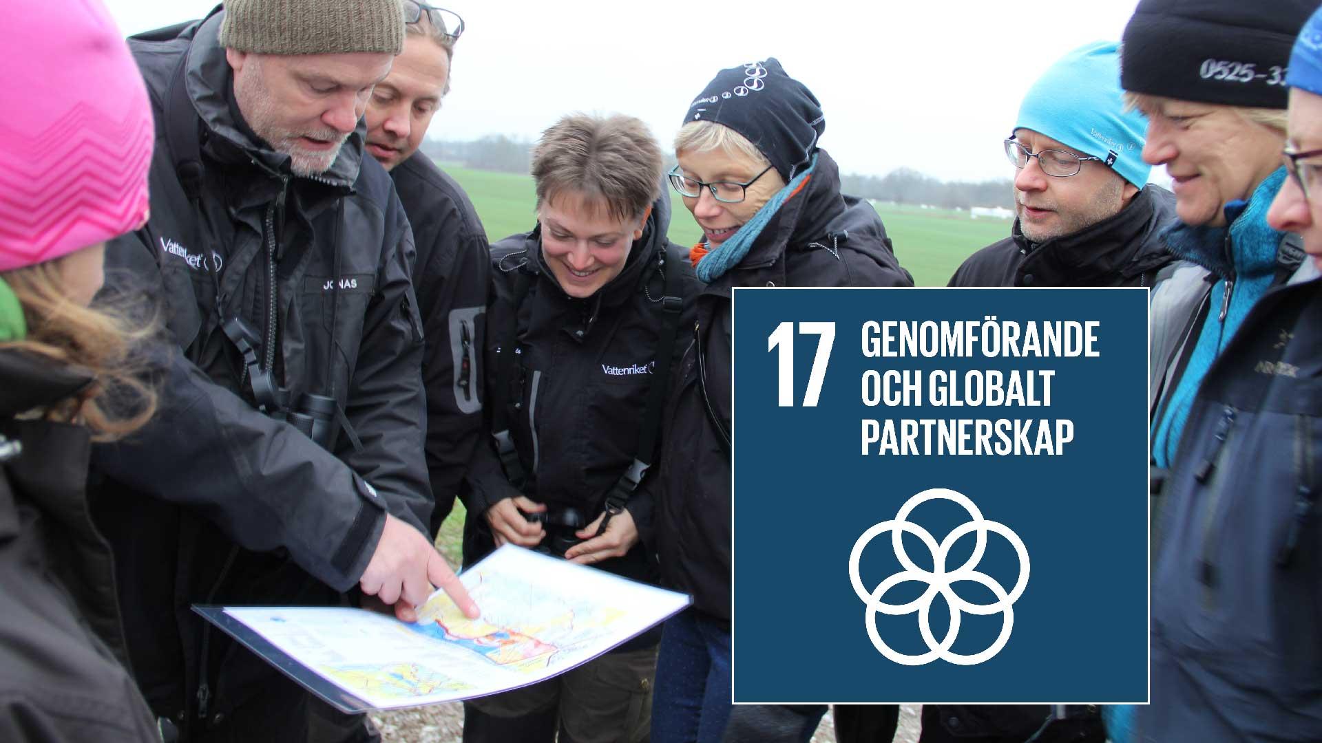 Biosfärområden är exempel på hur de globala målen kan uppfyllas, särskilt mål 17 Genomförande och globalt partnerskap.