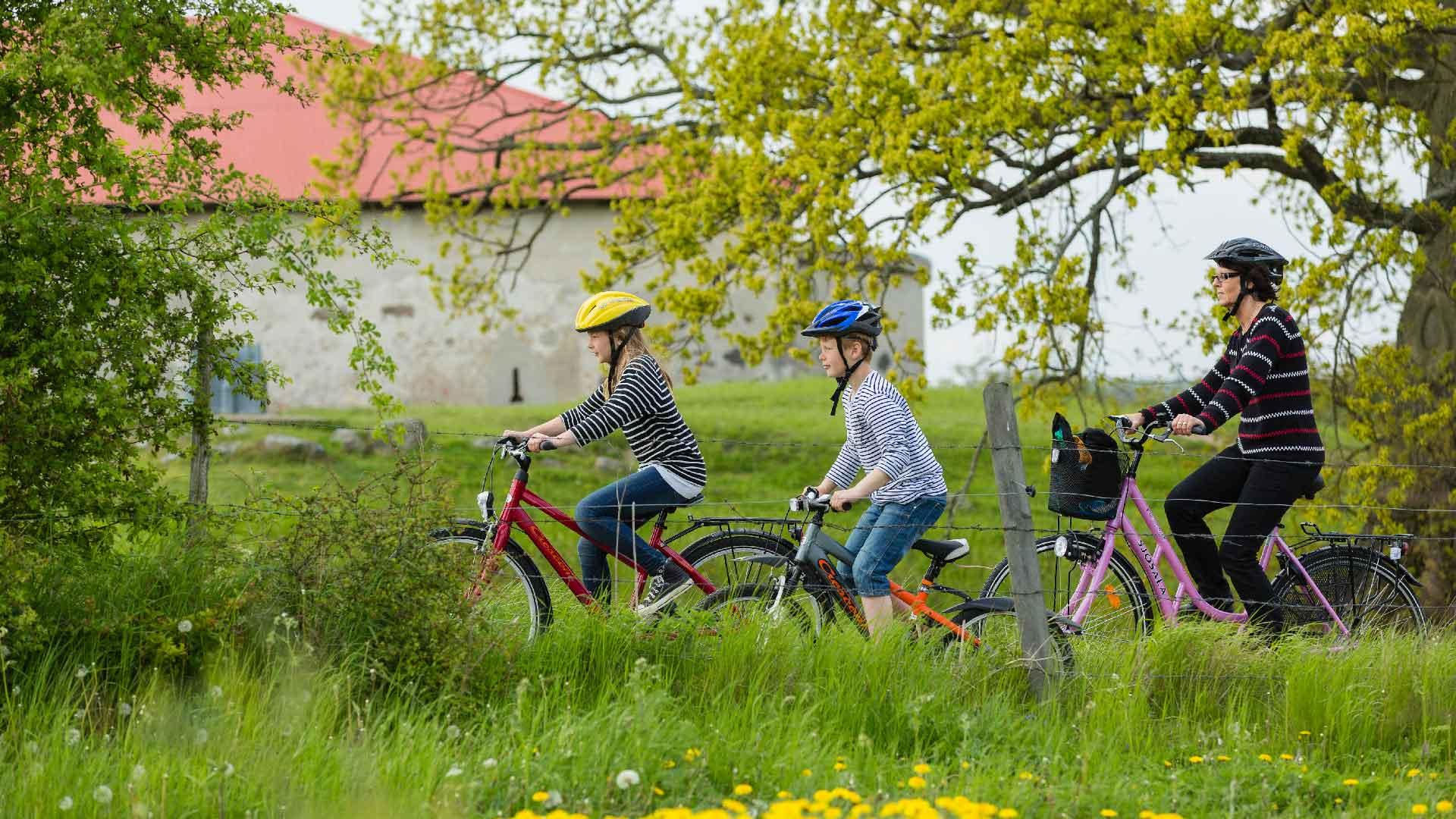 Cykla i Vattenriket, Lillö. Foto: Sven Persson, Svelo
