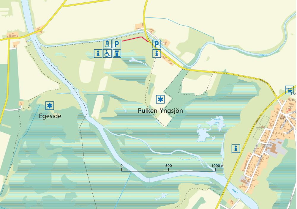 Platskarta över Pulken