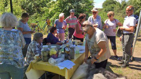Seniordag Vid Naturum. Foto: Åsa Pearce
