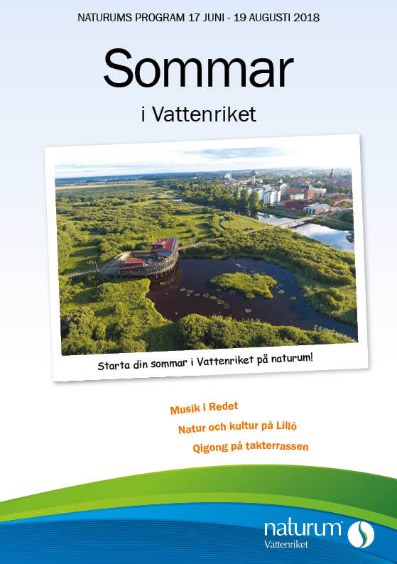 Naturum Vattenrikets sommarprogram 2018