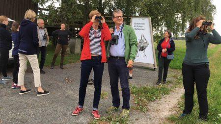 Nordiska Ministerrådets Expertgrupp Besöker Vattenriket, Foto: Åsa Pearce