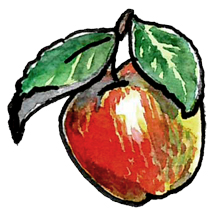 Sagan om det lilla äppelträdet. Illustration Erik Kohlström