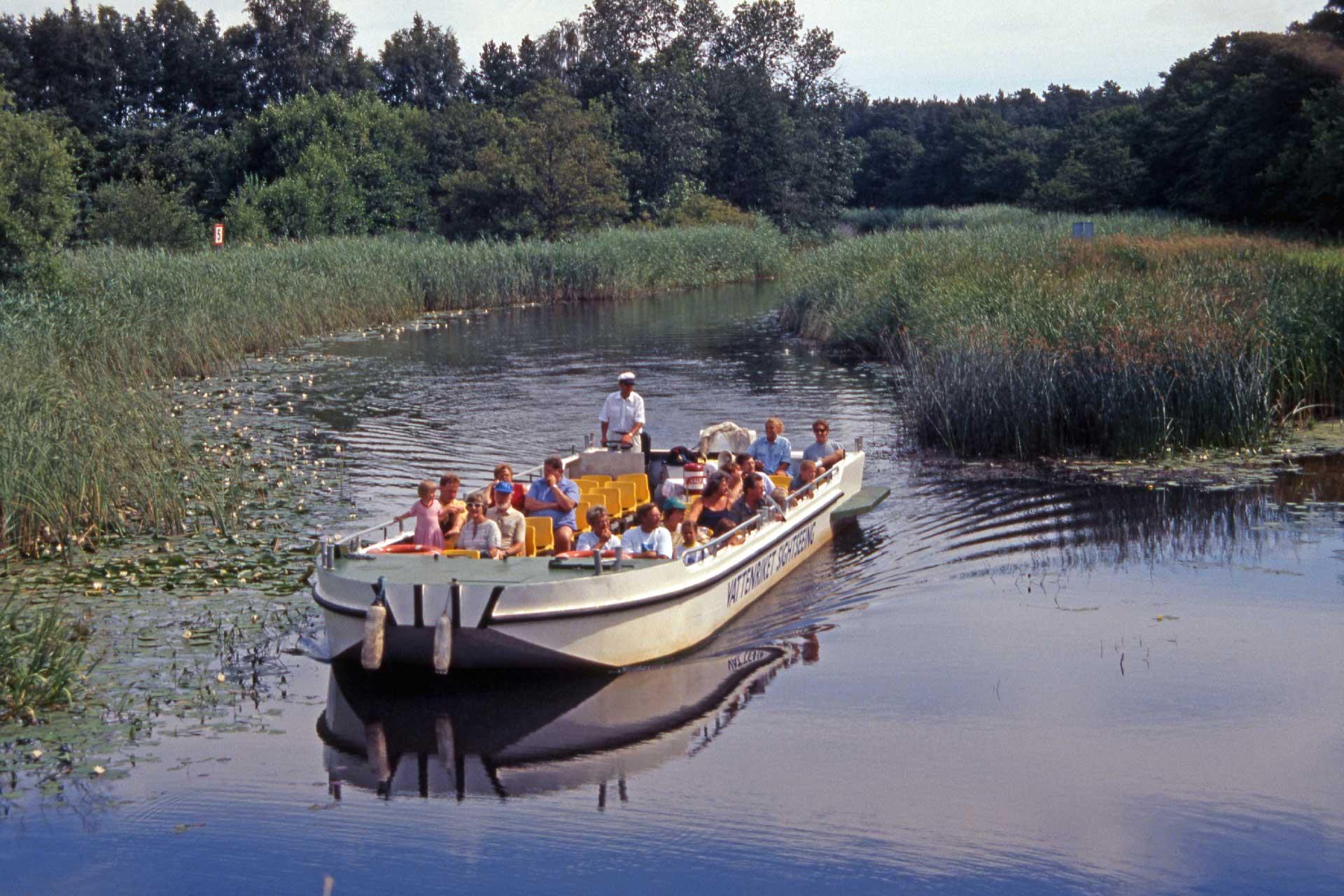 1994 började Flodbåten köra besökare i Vattenriket.