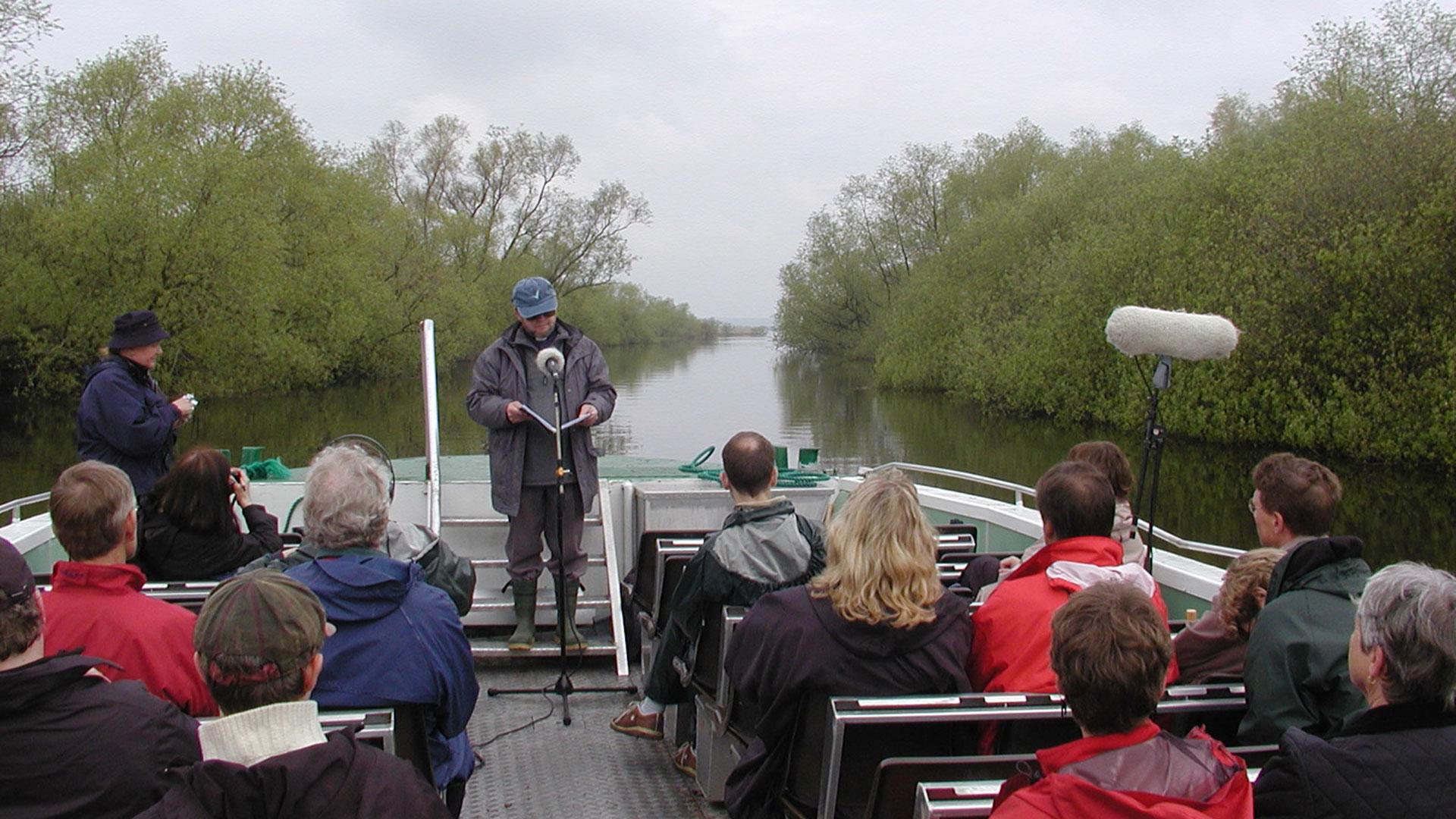 Gudstjänst på flodbåten 2003
