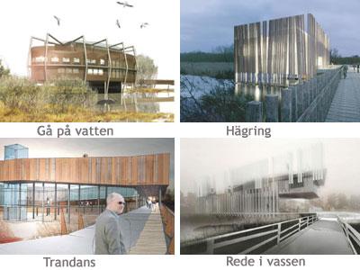 Arkitekttävling inför byggandet av naturum
