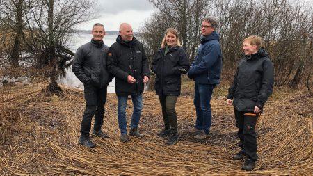 Träff Vid Franckes Udde I Projekt På Vatten I Vattenriket Foto: Åsa Pearce