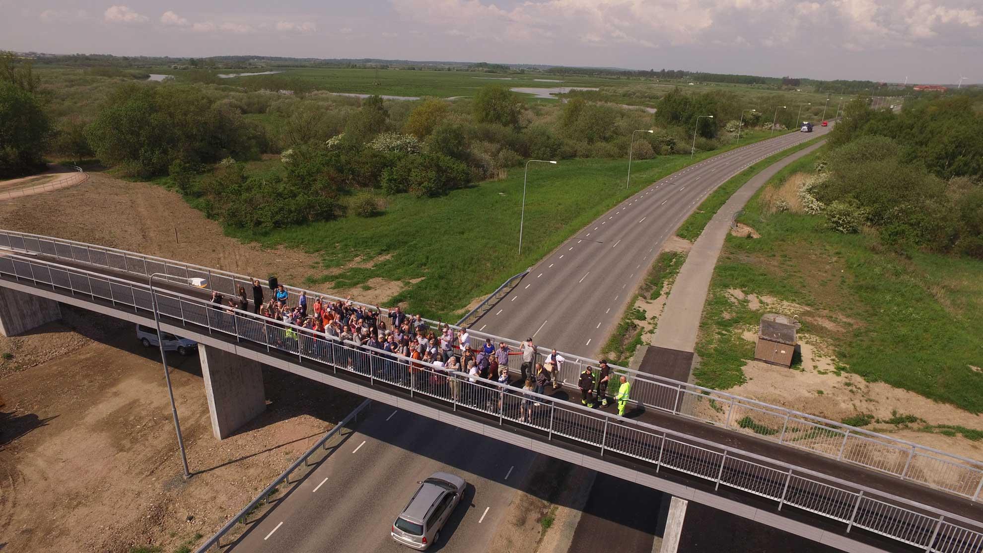 Foto: Mattias Roos broinvigning härlövsängaledsbron