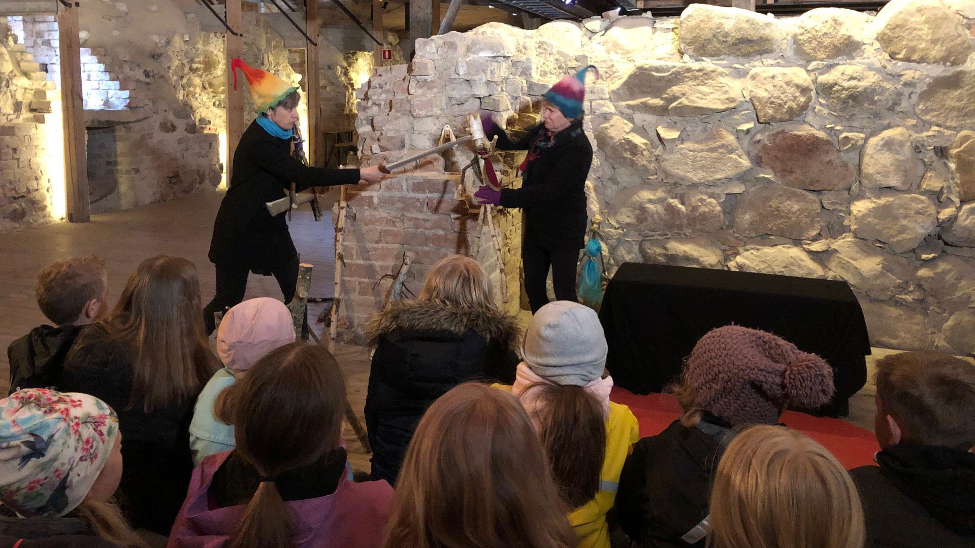 Teater Skapande skola på Lillö