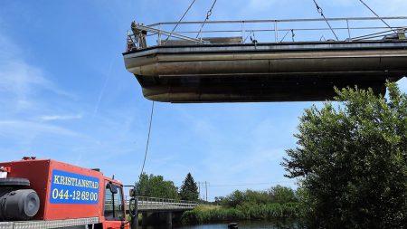 Safaribåten åter I Sjön