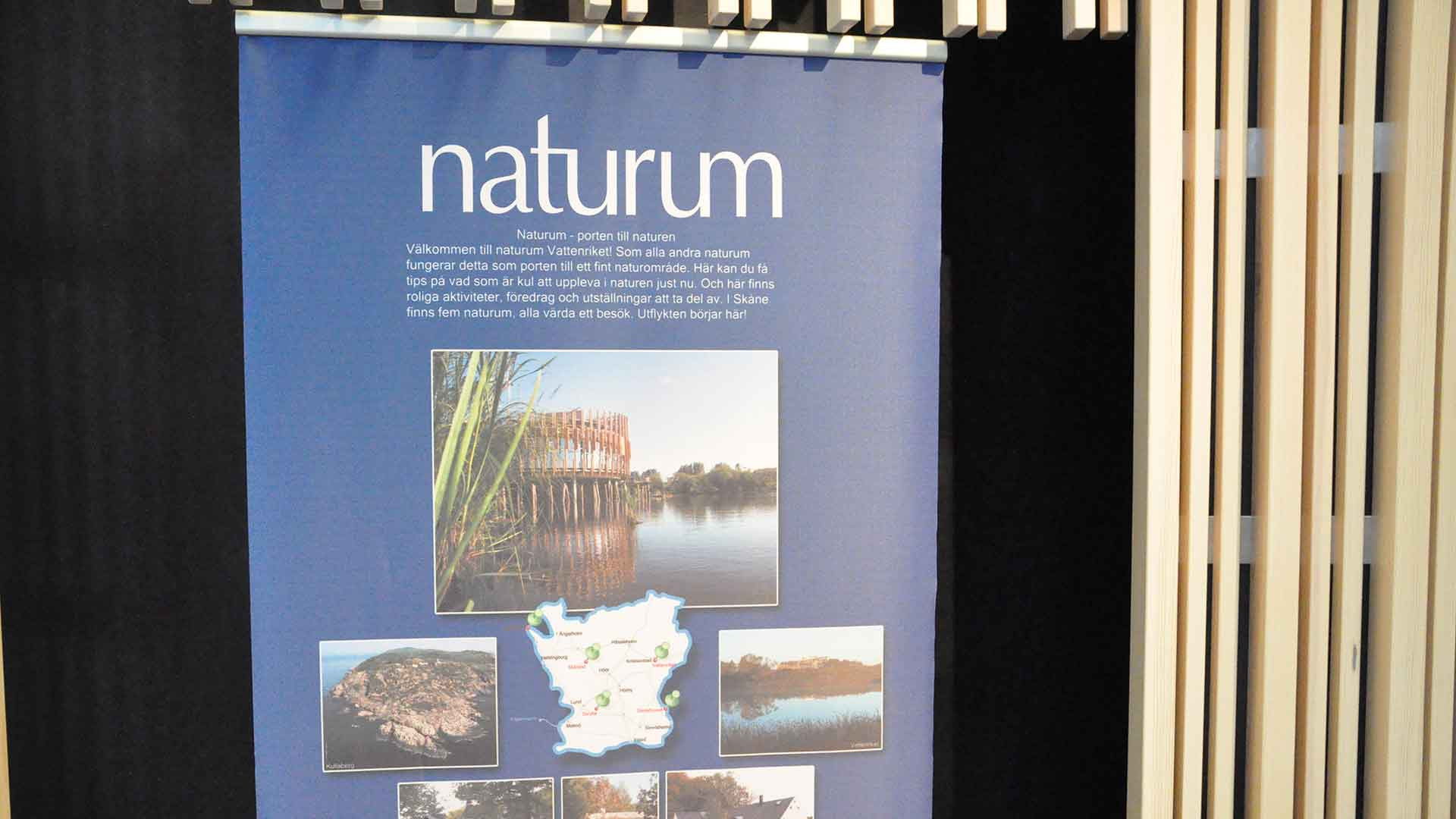 Exhibition - naturum the gateway to nature