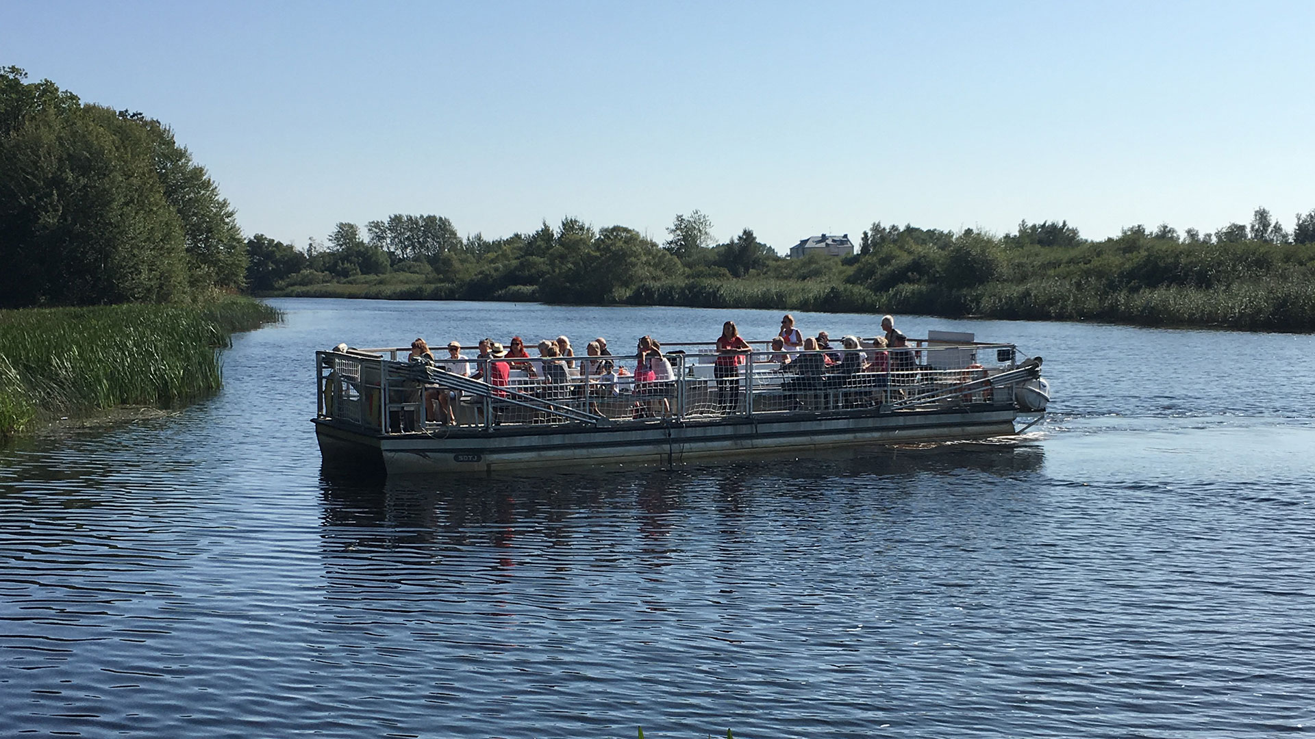 Stora Safaribåten. Foto Karin Magntorn