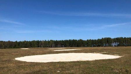 Sandblottor I Rinkaby