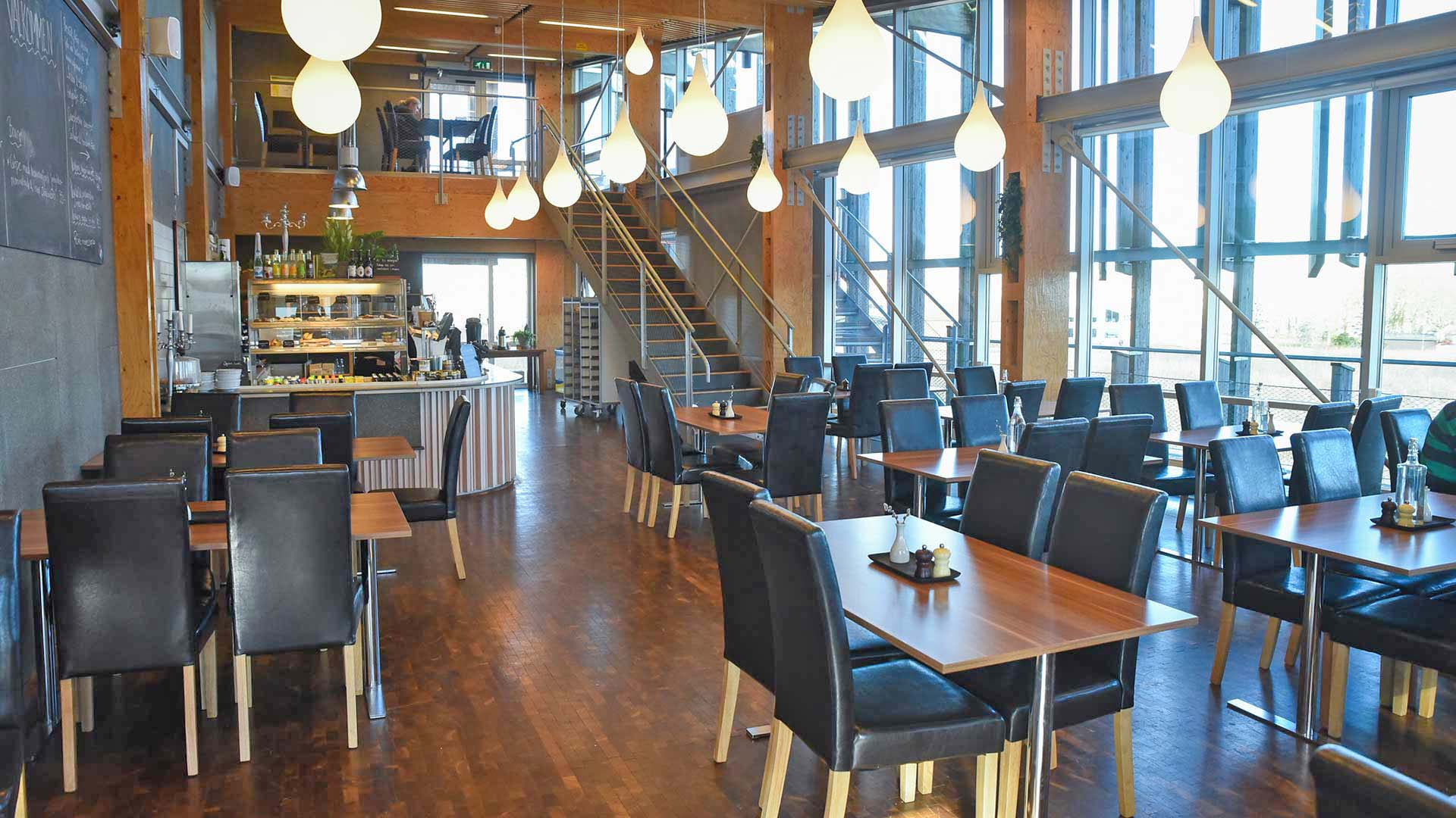 Restaurangen Café Årum På Naturums Andra Våning.
