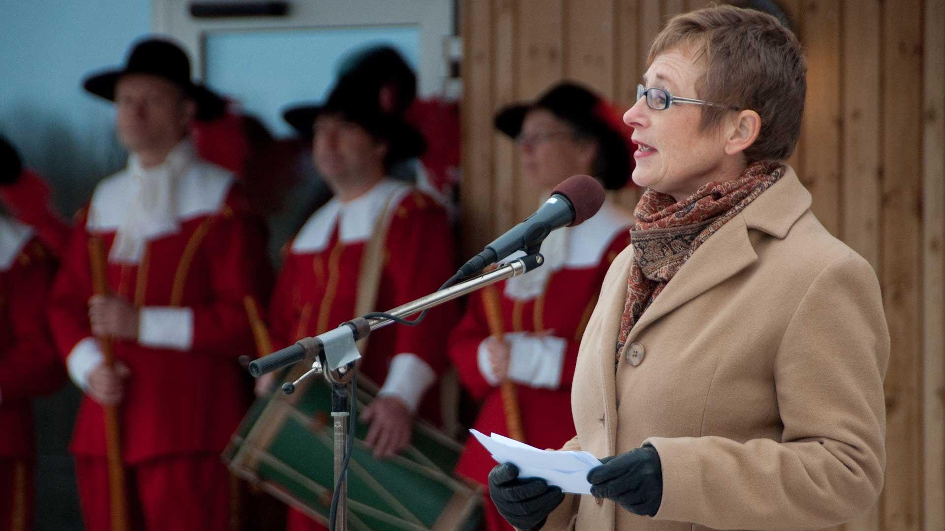 Naturvårdsverkets Generaldirektör Maria Ågren Inviger Naturum 2010. Ensemble Mare Balticum Spelade Stämningsfullt.