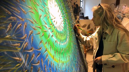 Malena Olsson Konstnär Inspirerad Av Vattenriket